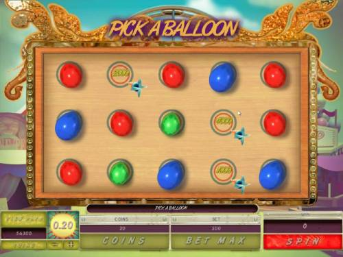 Carnival Royale Review Slots Select ballons to through darts at and collect prize awards. Bonus feature ends when you find the Collect.