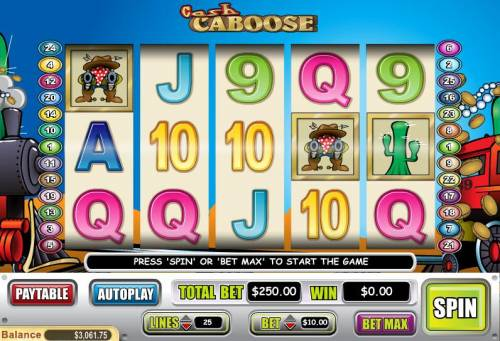 Cash Caboose review on Review Slots