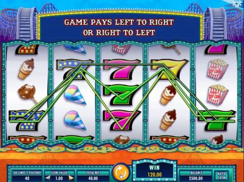 Cash Coaster Review Slots Multiple winning paylines triggers a 120.00 big win!