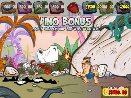 Cashasaurus Review Slots Dino Bonus - Round 2, our secon selection leads to a $1,500 prize award.