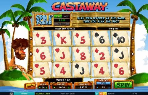 Castaway review on Review Slots