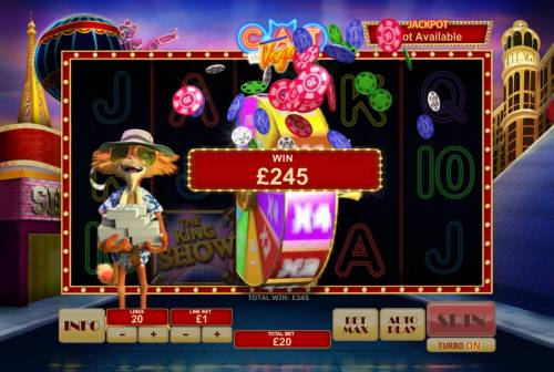 Cat in Vegas Review Slots Wheel of Luck pays out a total of 245.00. Feature gameplay continues until you land on an iactive wheel position.