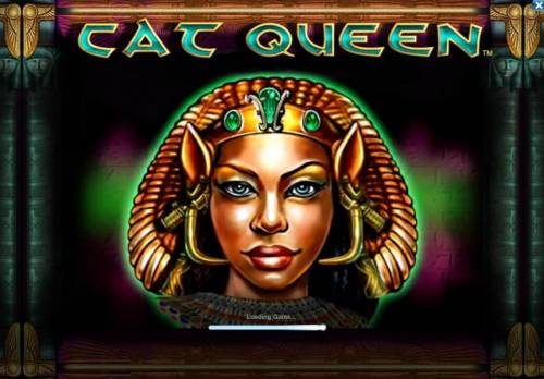 Cat Queen Review Slots Splash screen - game loading