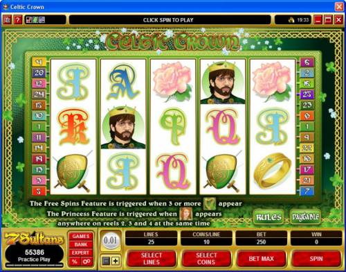 Celtic Crown review on Review Slots