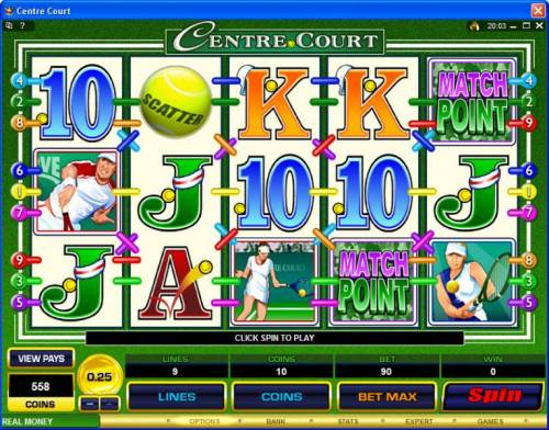 Centre Court review on Review Slots