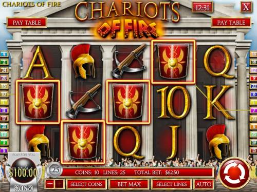 Chariots of Fire review on Review Slots