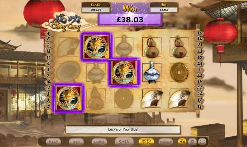 Cheng Gong Review Slots Scatter feature triggered