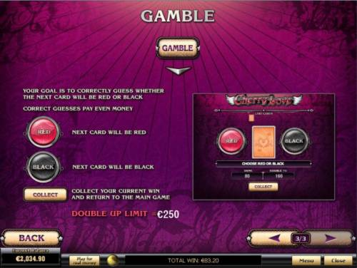 Cherry Love Review Slots Gamble Feature Games Rules