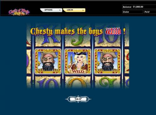 Chests of Plenty Review Slots Chesty makes the boys wild.