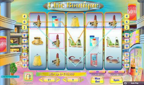 Chic Boutique Review Slots Multiple winning paylines