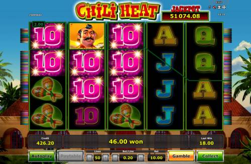 Chili Heat Review Slots Awesome win