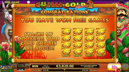 Chilli Gold x2 review on Review Slots
