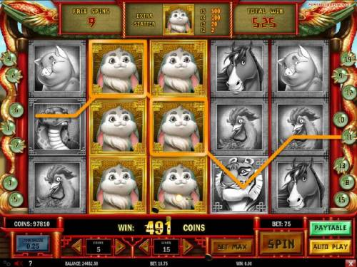 Chinese New year Review Slots Multiple winning paylines triggers a big win!