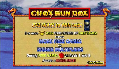 Choy Sun Doa review on Review Slots