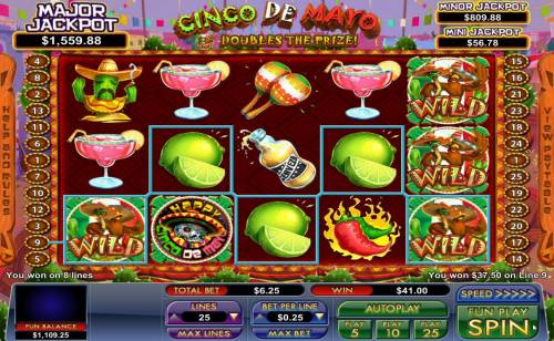 Cinco de Mayo review on Review Slots