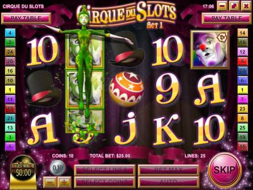 Cirque du Slots review on Review Slots