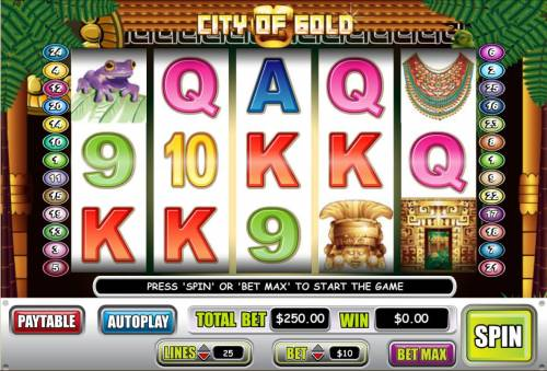 City of Gold review on Review Slots