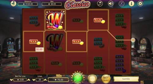 Classico Review Slots Multiple winning paylines