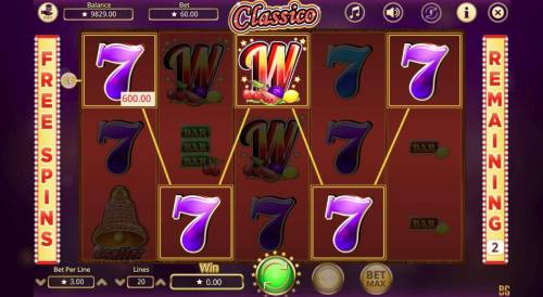 Classico Review Slots Multiple winning paylines triggers a big win