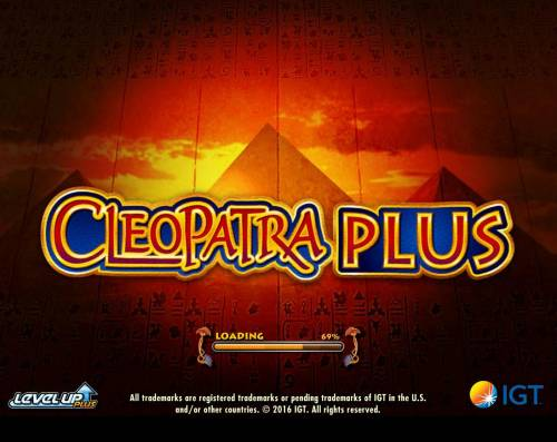 Cleopatra Plus Review Slots Splash screen - game loading