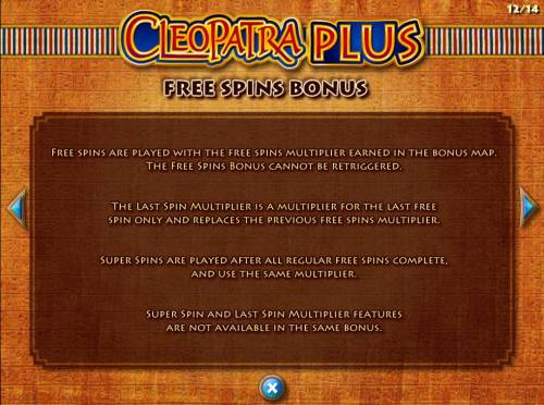 Cleopatra Plus Review Slots Free Spins Bonus Rules