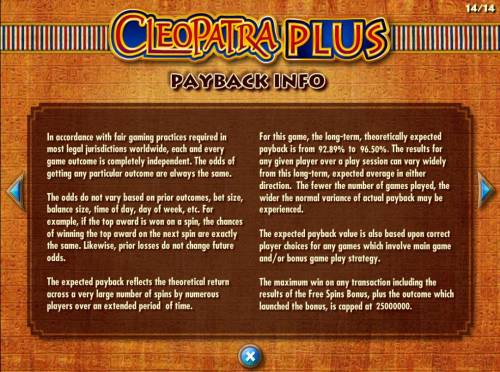Cleopatra Plus review on Review Slots