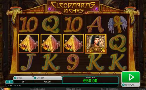 Cleopatra's Riches review on Review Slots