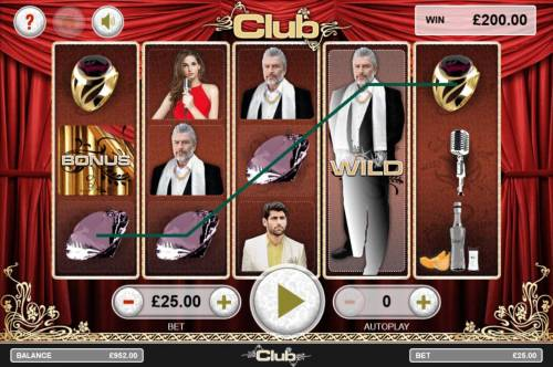 Club Review Slots Expanded wild triggers multiple winning paylines.