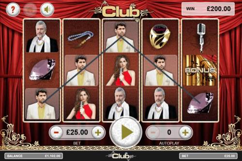Club Review Slots A winning Five of a Kind.