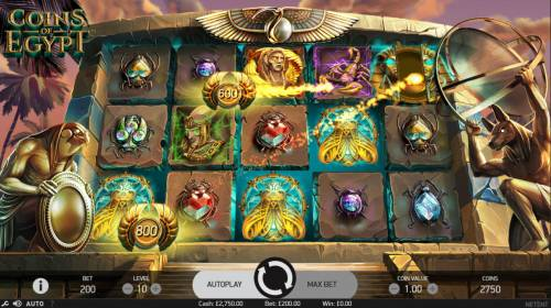 Coins of Egypt Review Slots Coins collected