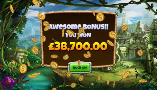 Congo Bongo Review Slots Total free games payout 387000 coins