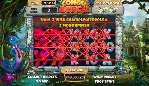 Congo Bongo Review Slots Multiple winning paylines triggers a big win