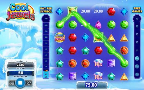 Cool Jewels Review Slots A shocking wild adds more to the payout