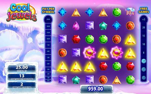 Cool Jewels Review Slots Multiple winning combinations andwilds triggers a big win!