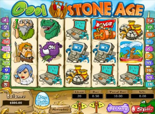 Cool Stone Age review on Review Slots