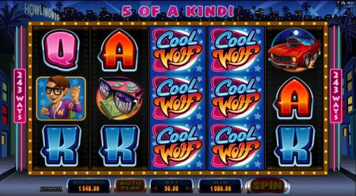 Cool Wolf Review Slots Five of a kind