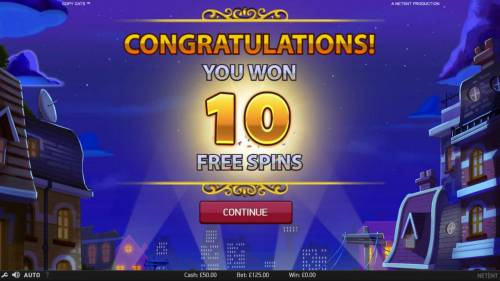 Copy Cats Review Slots 10 Free Games awarded