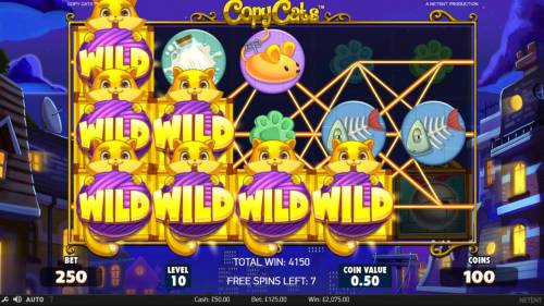 Copy Cats Review Slots Multiple winning paylines triggers a big win!