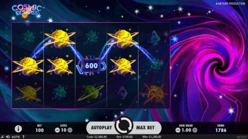Cosmic Eclipse Review Slots Multiple winning paylines triggers a big win