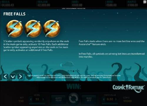 Cosmic Fortune review on Review Slots
