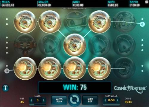 Cosmic Fortune Review Slots Multiple winning paylines