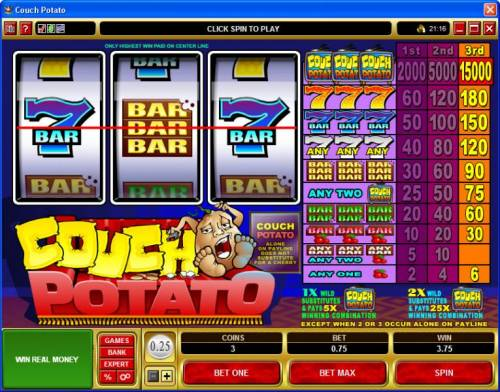 Couch Potato Review Slots