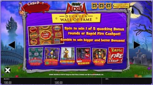 Count Duckula review on Review Slots