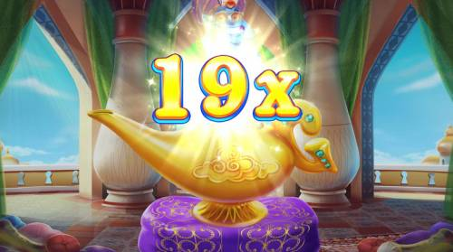 Crazy Genie Review Slots A 19x multiplier awarded