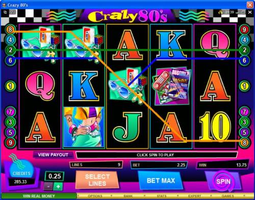Crazy 80s Review Slots