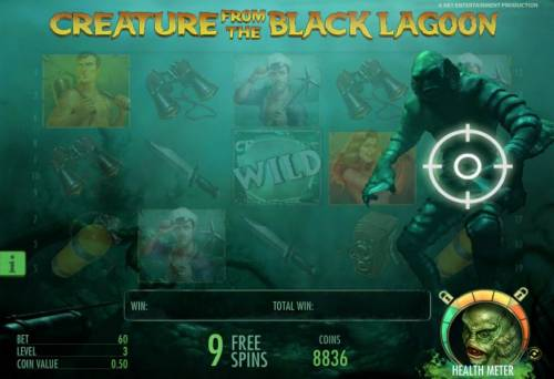 Creature from the Black Lagoon Review Slots shoot the monster to unlock sticky wilds