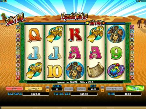 Crocodopolis Review Slots main game board featuring 5 reels and 25 paylines