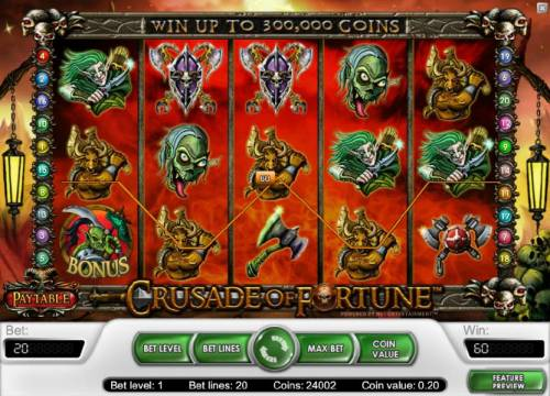 Crusade of Fortune review on Review Slots