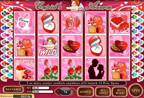 Cupid's Arrow review on Review Slots