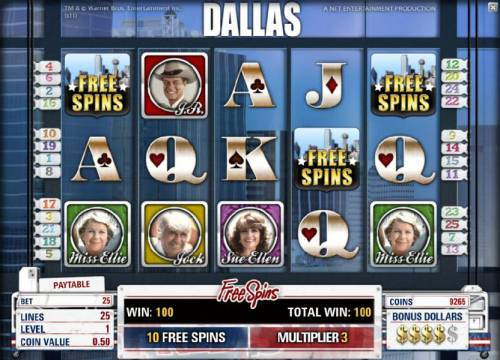 Dallas review on Review Slots